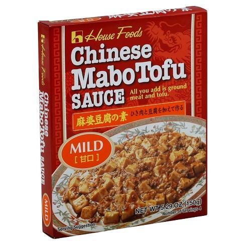 HOUSE FOODS - CHINESE MABO TOFU SAUCE (Mild) 5.29oz