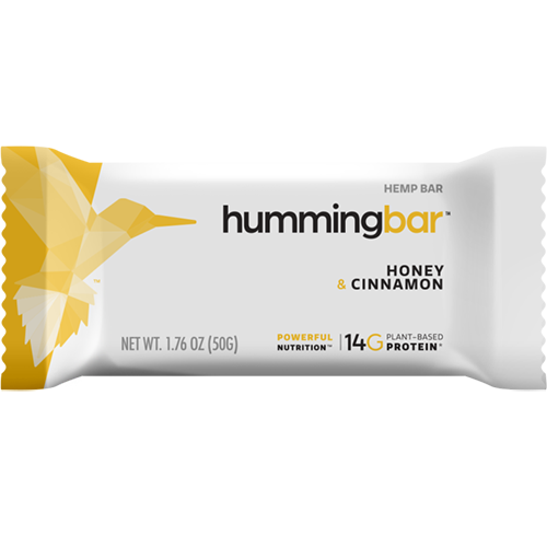 HUMMING BAR - HEMP BAR (Honey& Cinnamon) - 1.58oz