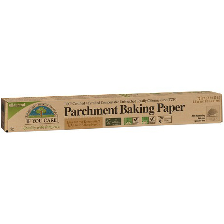 IF YOU CARE  - PARCHMENT BAKING PAPER - 70 sqf