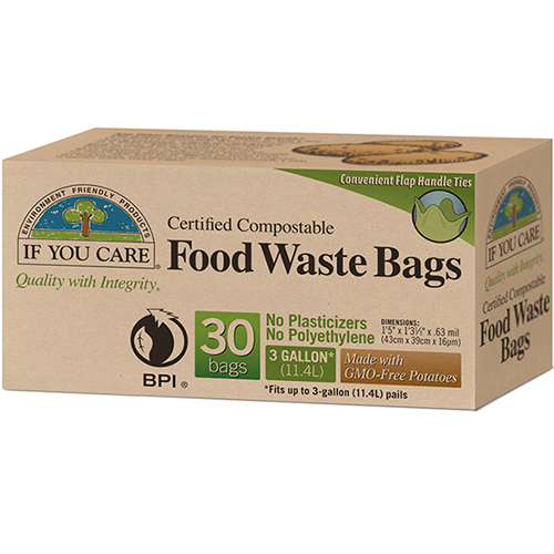 IF YOU CARE - FOOD WASTE BAGS - 30 BAGS