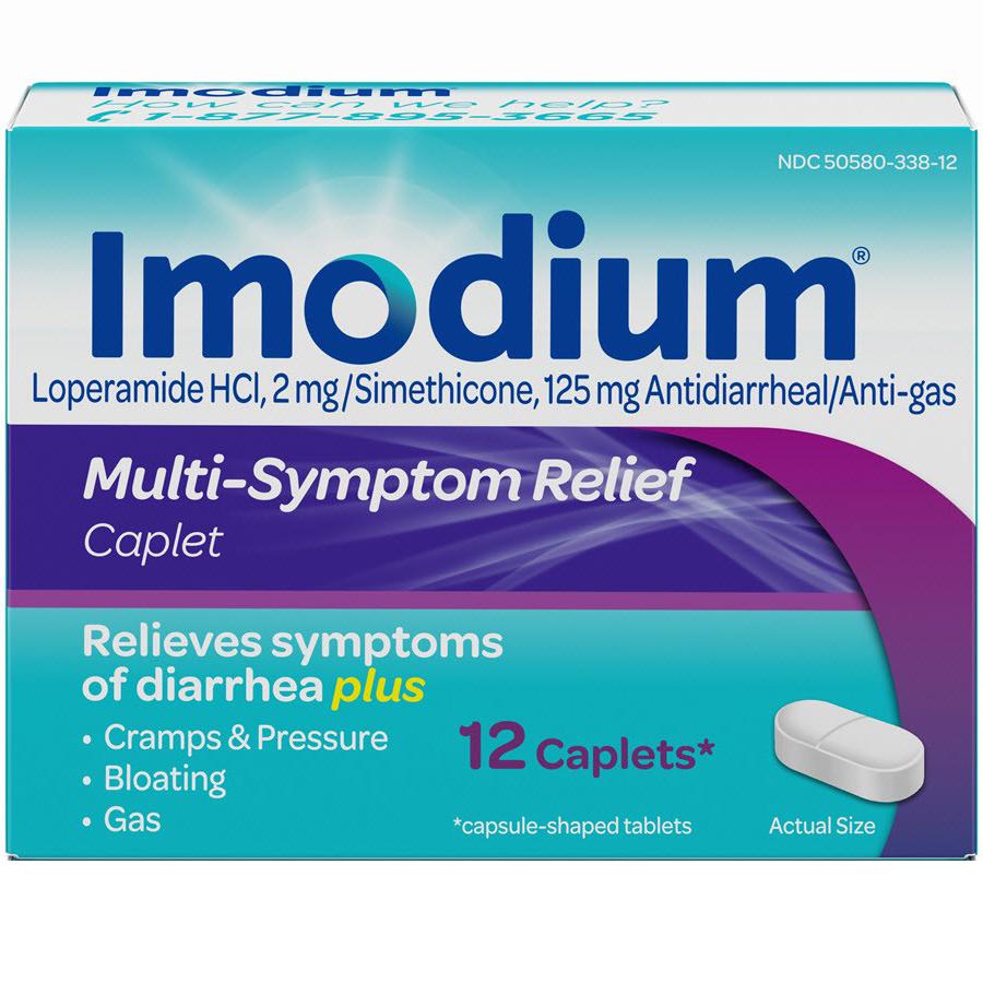 IMODIUM - 12TABLETS
