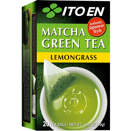 ITO EN - MATCHA GREEN TEA - (Lemongrass) - 20 bags