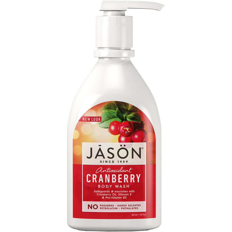 JASON - MOISTURIZING BODY WASH - (Cranberry) - 30oz