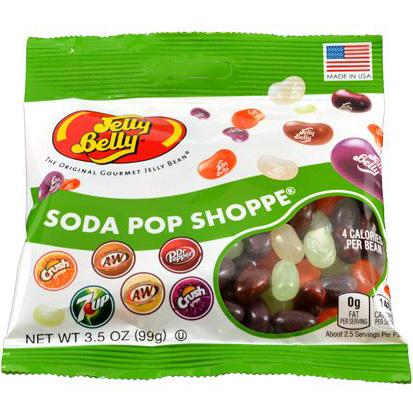 JELLY BELLY - THE ORIGINAL GOURMET JELLY BEAN - (Soda Pop Shoppe) - 3.55oz
