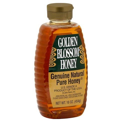 JOHN PATON.Inc - GOLDEN BLOSSOM HONEY - GENUINE NATURAL PURE HONEY - GLUTEN FREE - 24oz