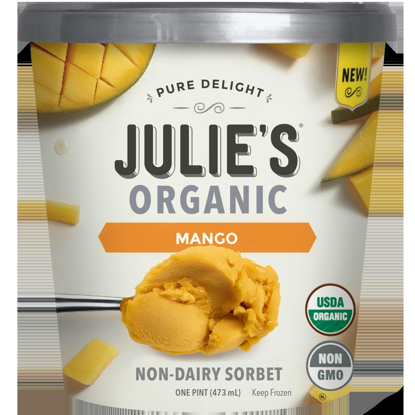 JULIE'S - NON GMO - NON DAIRY - (Mango) - 16oz
