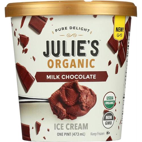 JULIE'S - NON GMO - GLUTEN FREE - NON DAIRY - (Milk Chocolate) - 16oz