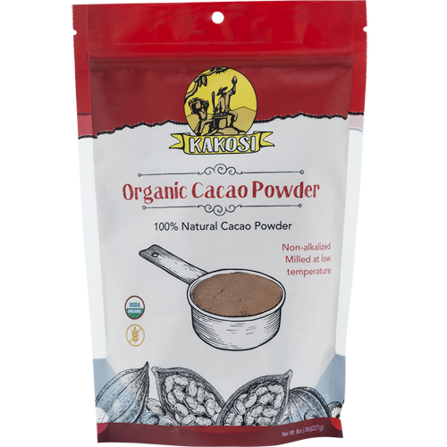 KAKOSI - ORGANIC CACAO POWDER - 8oz