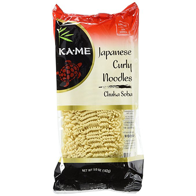 KAME - JAPANESE CURLY NOODLE - ASIAN - CHNKA SOBA - 5oz