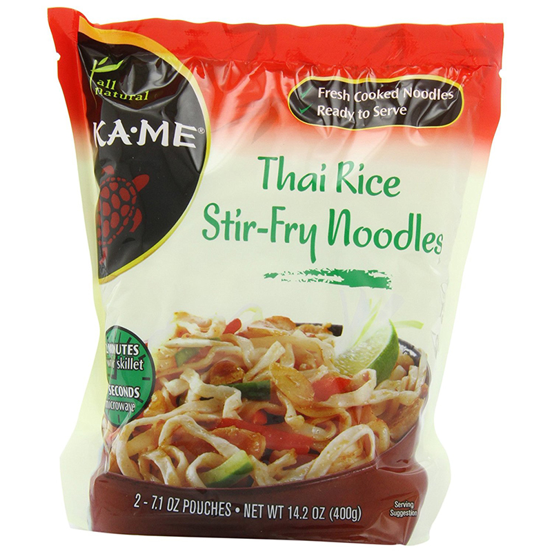 KAME - THAI RICE STIR - FRY NOODLES - 2-7.1oz