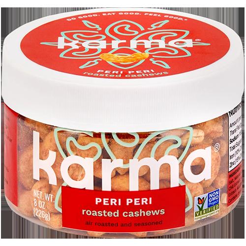 KARMA - WRAPPED CASHEWS (Peri Peri) - 8oz