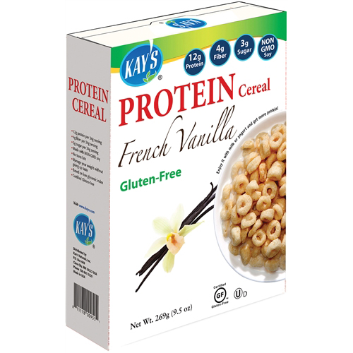KAY'S - PROTEIN CEREAL - (French Vanilla) - 9.5oz