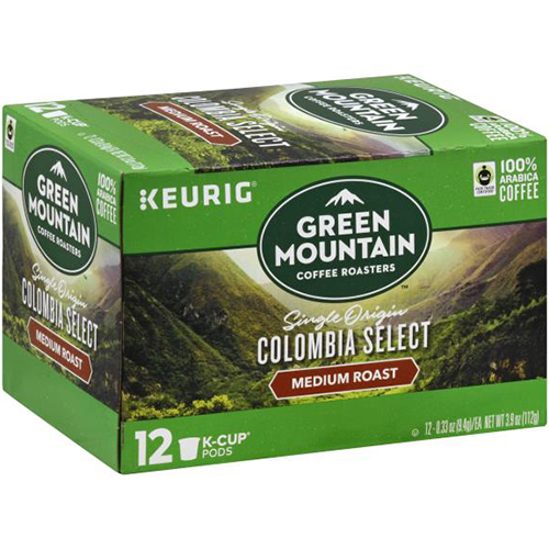 KEURIG - GREEN MOUNTAIN CUPS - (Colombia Select | Medium Roast) - 12cups