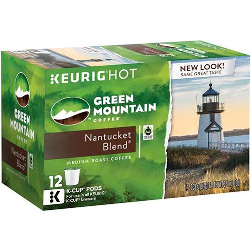 KEURIG - GREEN MOUNTAIN CUPS - (Nantucket Blend | Medium Roast) - 12cups