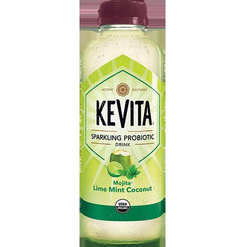 KEVITA - SPARKLING PROBIOTIC DRINK - (Mojita Lime Mint Coconut) - 15.2oz