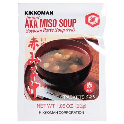 KIKKOMAN - AKA MISO SOUP (Red Soybean Paste Soup) -1.05oz