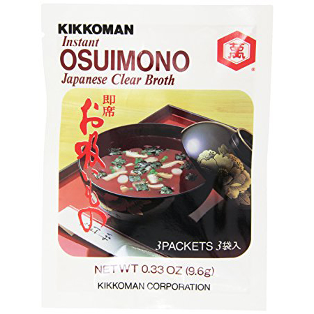 KIKKOMAN - OSUIMONO (Japanese Clear Broth) - 0.33oz