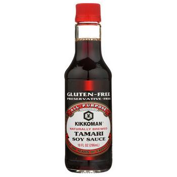 KIKKOMAN - SOY SAUCE - Gluten Free - (Tamari) - 10oz