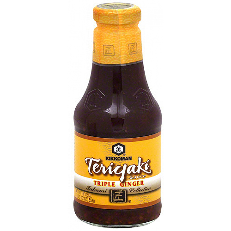 KIKKOMAN - TERIYAKI SAUCE - (Triple Ginger) - 19.5oz