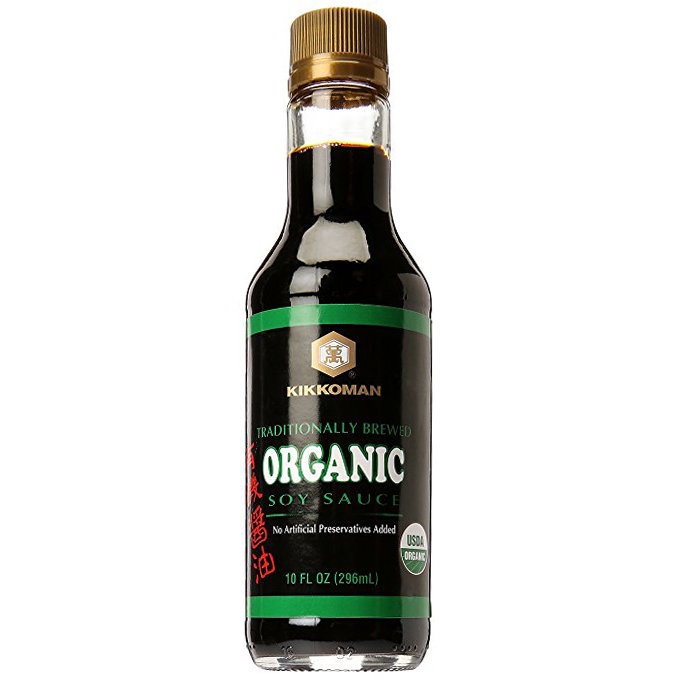 KIKKOMAN - TRADITIONALLY BREWED - ORGANIC  SOY SAUCE - 10oz