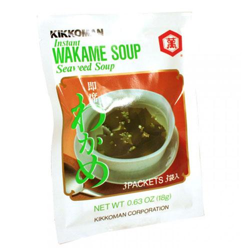 KIKKOMAN - WAKAME SOUP (Seaweed Soup) - 0.63oz