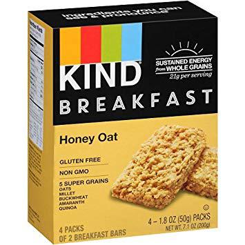 KIND BREAKFAST - (Honey Oat) - 7.1oz