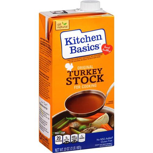 KITCHEN BASICS - TURKEY STOCK - 32oz