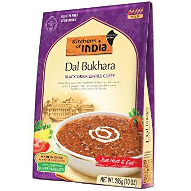 KITCHENS OF INDIA - NATURAL - GLUTEN FREE - (Dal Bukhara) - 10oz