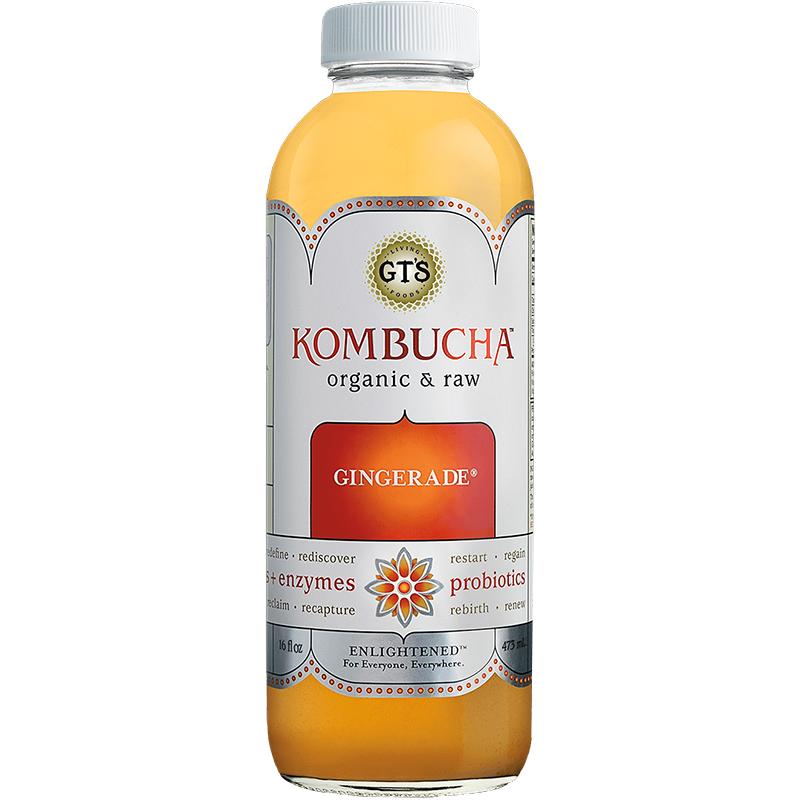 GTS - KOMBUCHA - (Gingerade) - 16oz