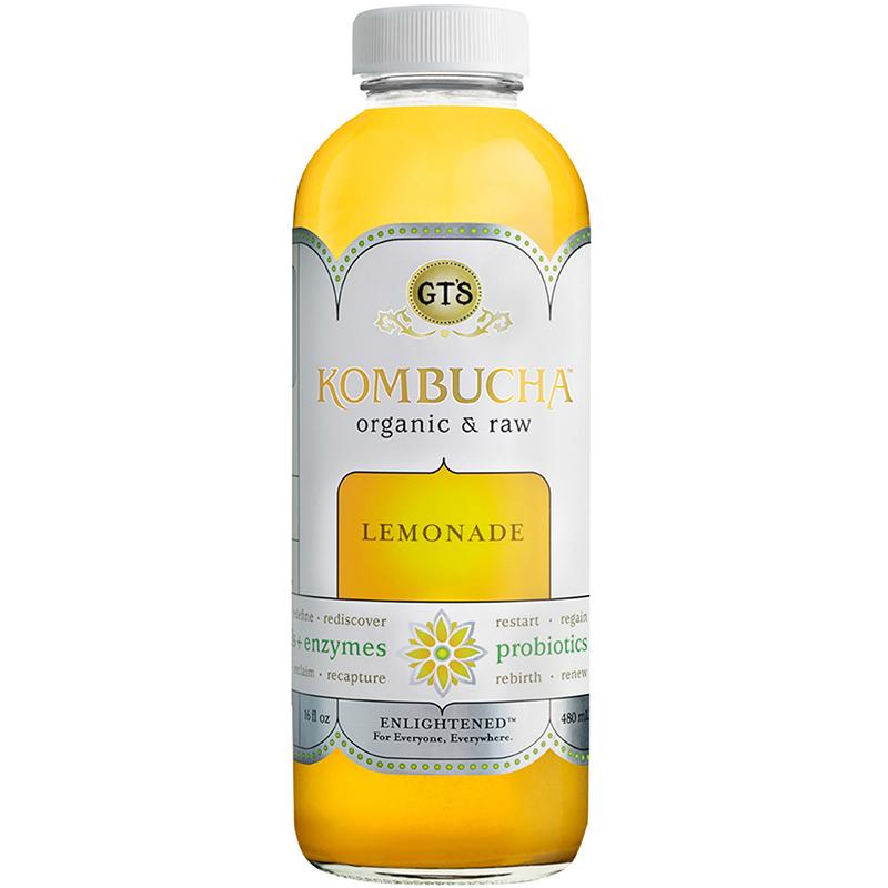 GTS - KOMBUCHA - (Lemonade) - 16oz