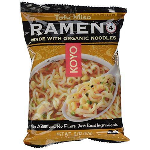 KOYO - RAMEN - ORGANIC - VEGAN - (Tofu Miso) - 2oz