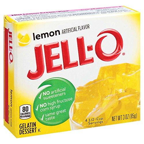 KRAFT - JELL-O - GELATIN DESSERT - (Lemon) - 3oz