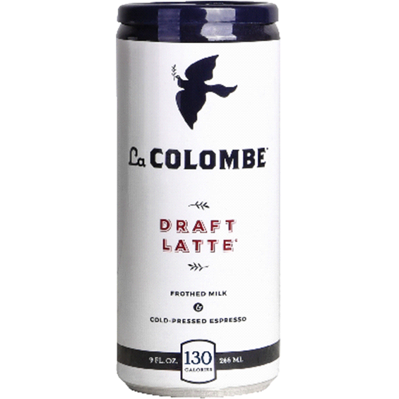 LA COLOMBE - DRAFT LATTE - 9oz