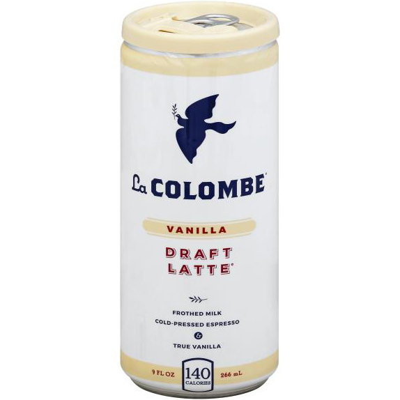LA COLOMBE - DRAFT LATTE - (Vanilla) - 9oz