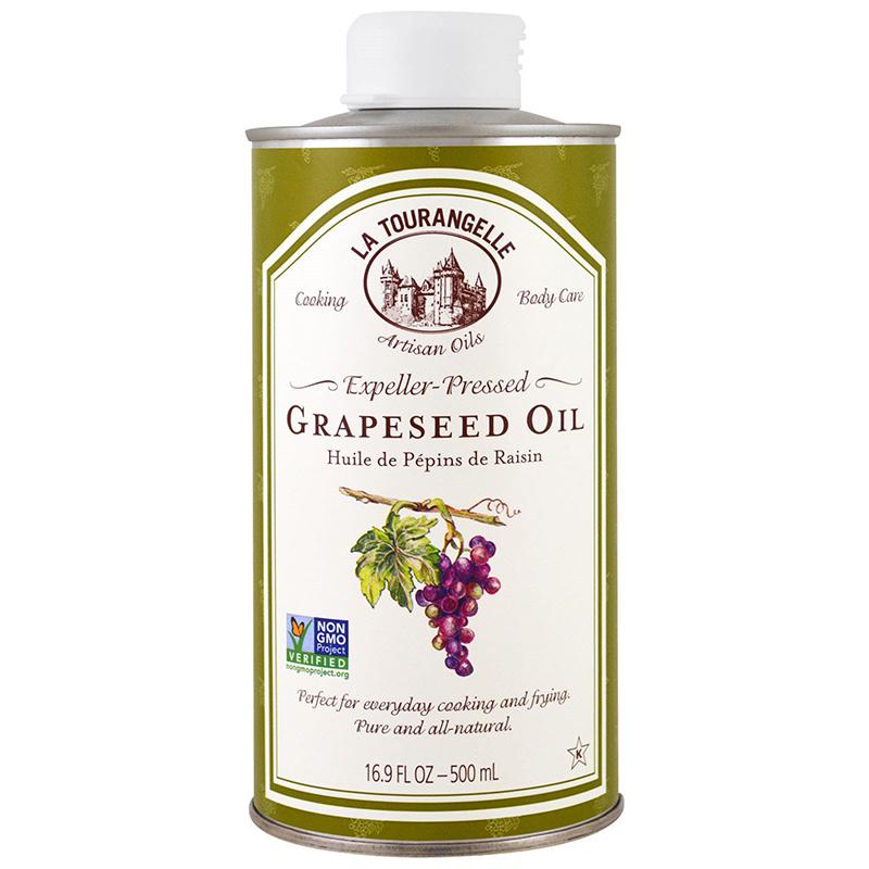 LA TOURANGELLE - GREAPESEED OIL - NON GMO - 17oz