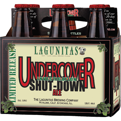 LAGUNITAS - UNDERCOVER SHUT-DOWN ALE - (Bottle) - 12oz(6PK)
