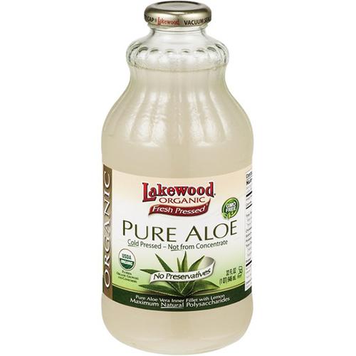 LAKEWOOD - ORGANIC PURE ALOE - NON GMO - 32oz