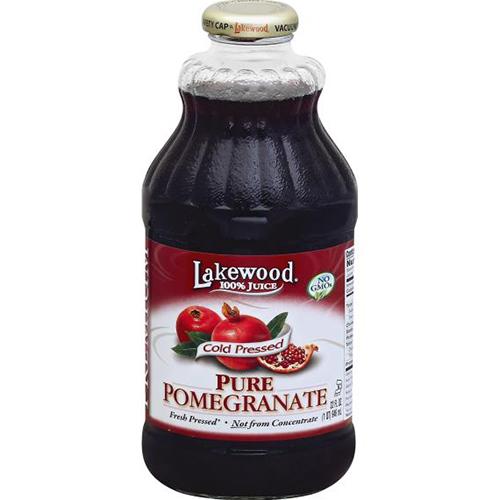 LAKEWOOD - ORGANIC PURE POMEGRANATE - NON GMO - 32oz