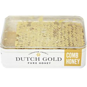 LANCASTER COUNTY - DUTCH GOLD PURE HONEY COMB HONEY - 7oz