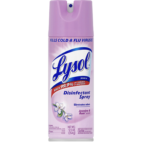 LAYSOL - DISINFECTANT SPRAY - (Jasmine & Rain) - 12.5oz