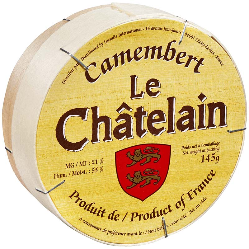 LE CHATELAIN - CAMEMBERT CHEESE - 8oz