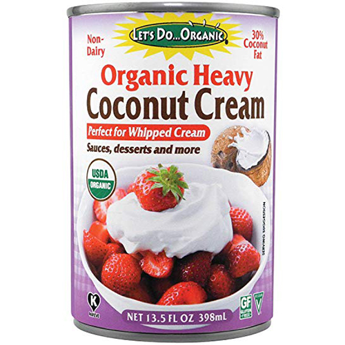 LET'S DO ORGANIC - ORGANIC HEAVY COCONUT CREAM - 13.5oz