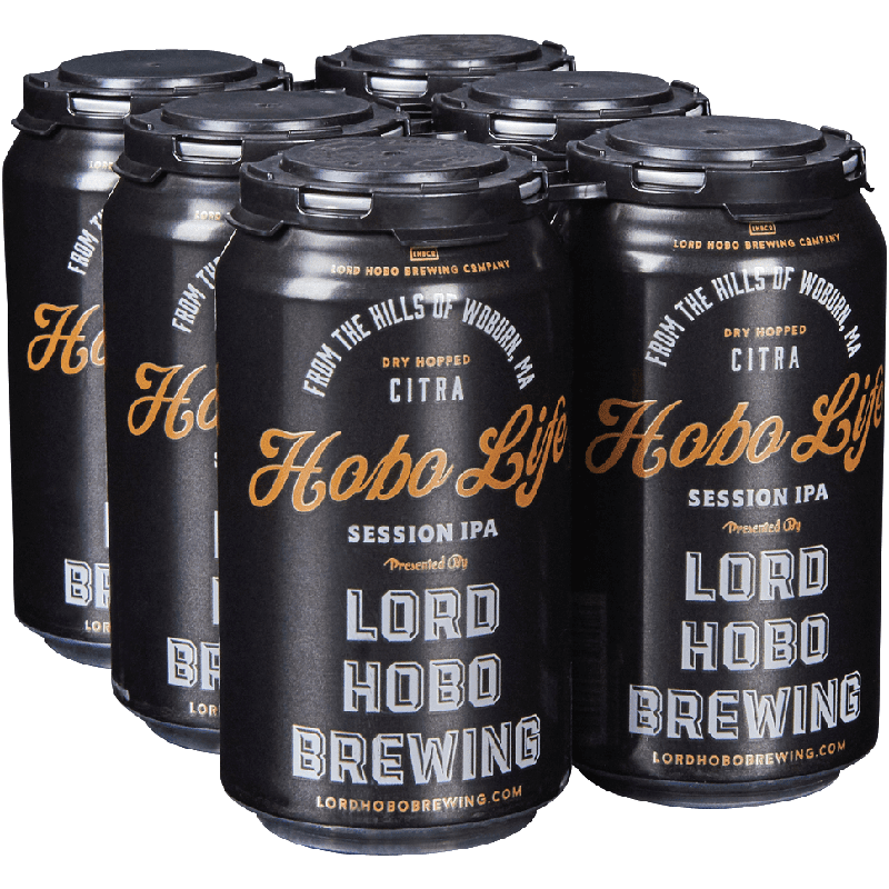 LHBCO - HOBO LIFE - SESSION IPA - (Can) - 12oz(6PK)
