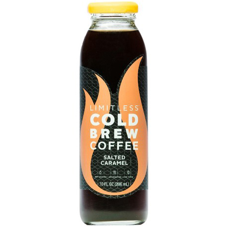 LIMITLESS - COLD CREW CLEAN COFFEE - (Salted Caramel) - 10oz