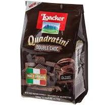 LOACKER QUADRATINI - (Double Choc) - 7.76oz