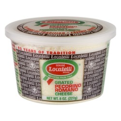 LOCATELLI - PECORINO ROMANO CHEESE - 8oz