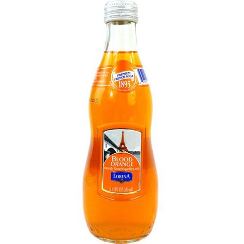LORINA - NATURALLY FLAVORED SPARKLING SODA - (Blood Orange) - 11oz