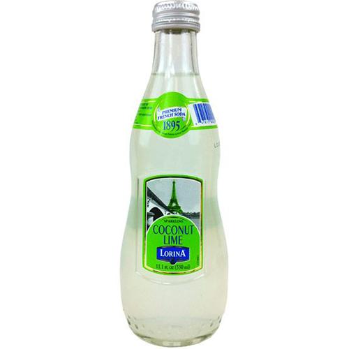 LORINA - NATURALLY FLAVORED SPARKLING SODA - (Coconut Lime) - 11oz