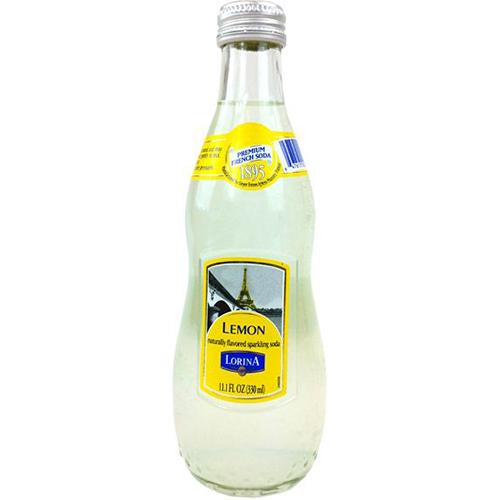 LORINA - NATURALLY FLAVORED SPARKLING SODA - (Lemon) - 11oz