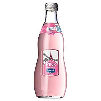 LORINA - NATURALLY FLAVORED SPARKLING SODA - (Pink Lemonade) - 11oz